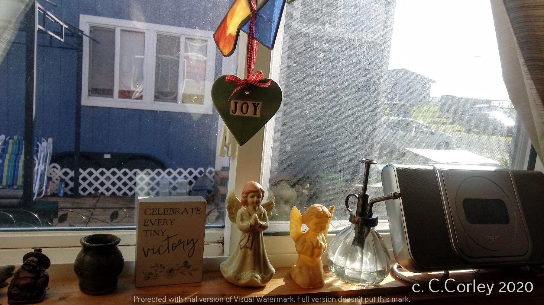 A view of joyful objects