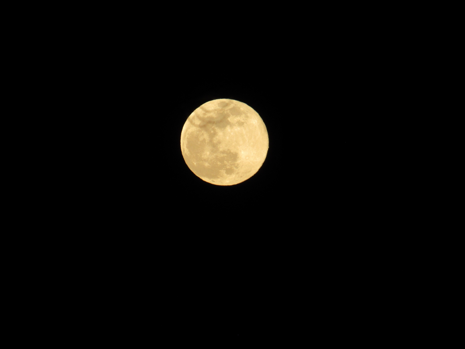 Moon-in-a-dark-sky