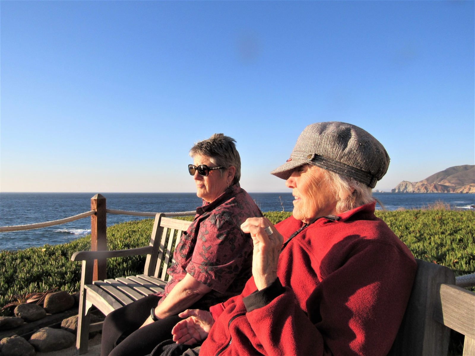 Joyce-and-Jane-on-the-Following-Winds-Bench