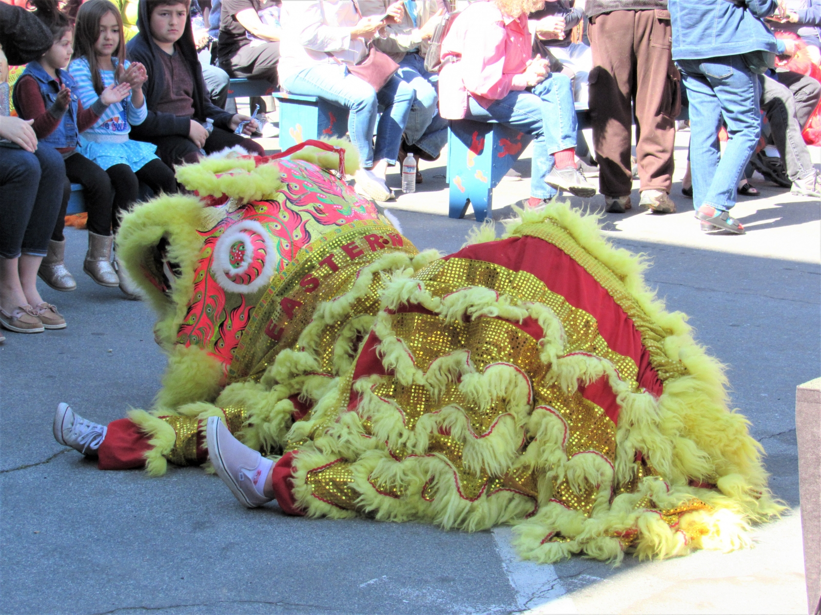 Yellow-Lion-bowing