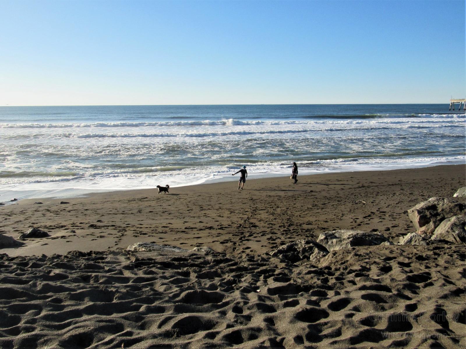 Three-on-the-beach