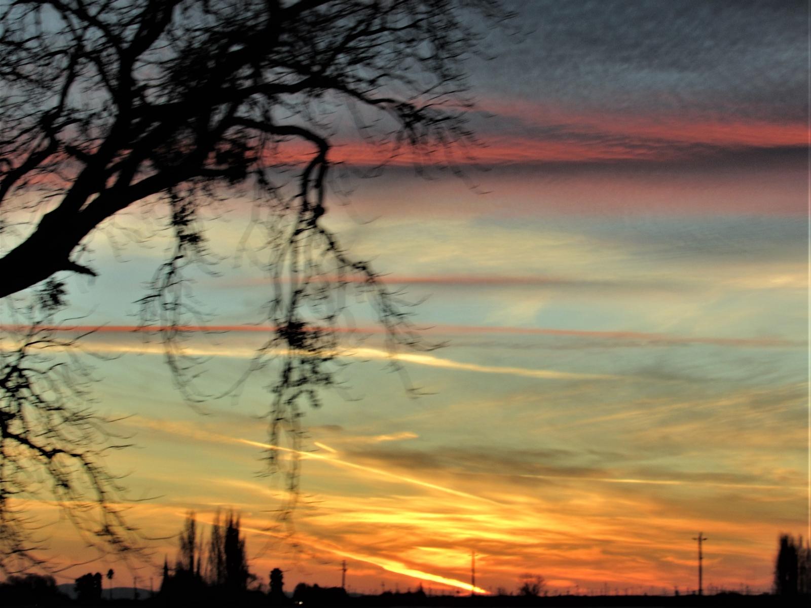 Sky-streaks