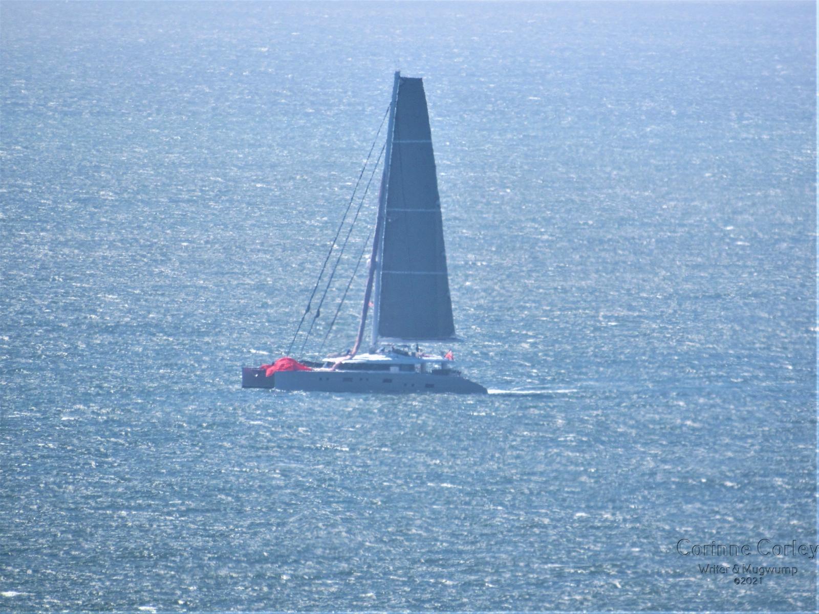 Sail-boat-at-Stinson-Beach